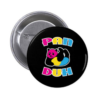 Pansexual Rainbow LGBT Pride Pinback Button