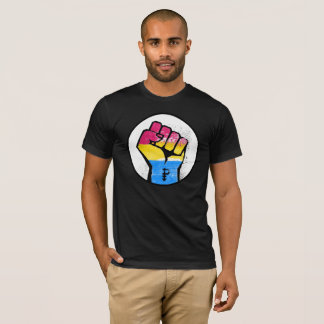 PANSEXUAL RESISTANCE AND SYMBOL - T-Shirt