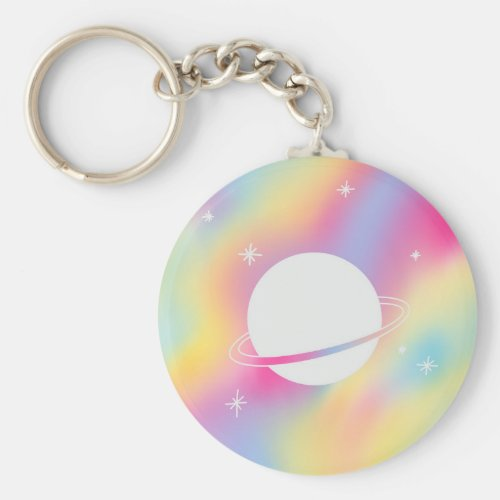 Pansexual Space Keychain