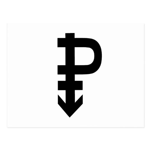 Pansexual Symbol Postcard