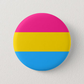 Pansexuality flag button