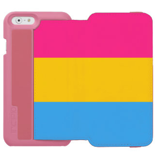 Pansexuality flag iPhone 6/6s wallet case