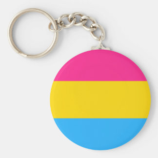 Pansexuality flag Keychain
