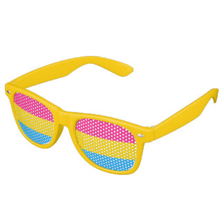 Pansexuality flag Party Shades