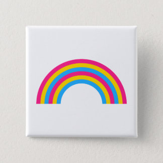 Pansexuality rainbow pride Button