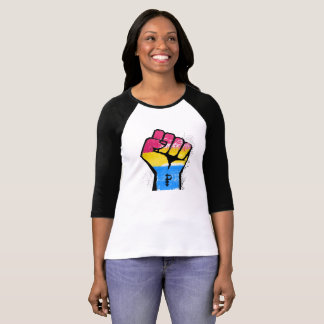 PANSEXUALS RESIST AND SYMBOL - LGBT RESISTANCE -.p T-Shirt