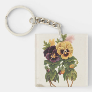 Pansey Ladies Keychain
