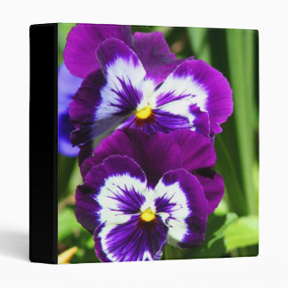 Pansies binder