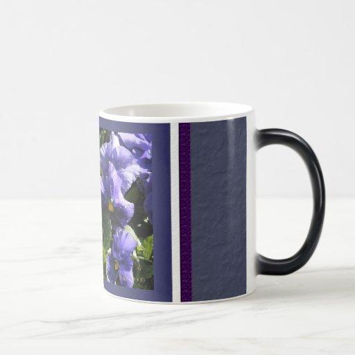 Pansies: Blue Violet Coffee Mug