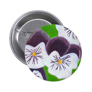 Pansies Button
