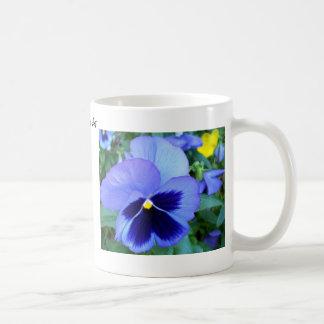 Pansies - CricketDiane Photographic Floral Art Coffee Mug