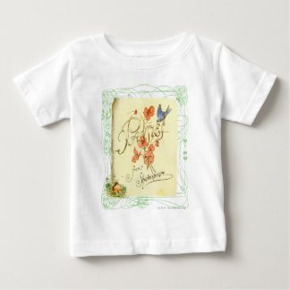 Pansies from Shakespeare Shirt