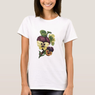 Pansies in Bloom T-Shirt