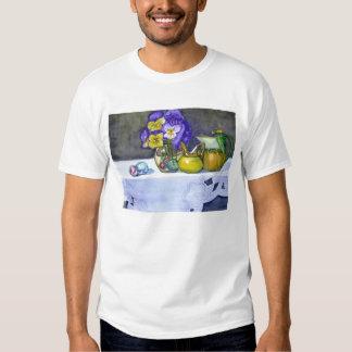 Pansies in Vase Shirt