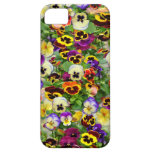 Pansies ~ iPhone 5 Barely There Case iPhone 5 Cases