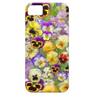 Pansies ~  iPhone 5 ID Case #2