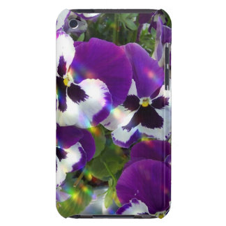 Pansies  iTouch Case Barely There iPod Cover