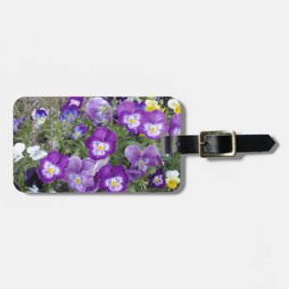 Pansies Tags For Luggage