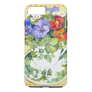 Pansies - nasturtiums 2013 iPhone 7 plus case