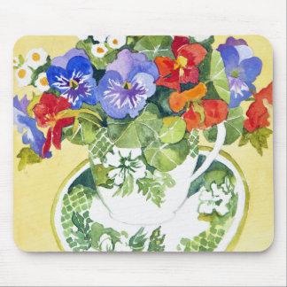 Pansies - nasturtiums 2013 mouse pad