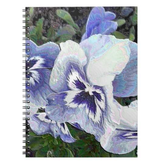 PANSIES NOTEBOOK