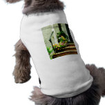 Pansies on Steps Doggie T Shirt