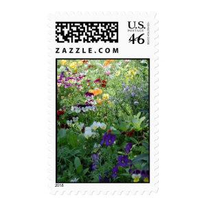 Pansies stamp