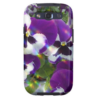 Pansies Samsung Galaxy Case Samsung Galaxy S3 Cover