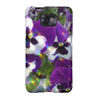 Pansies Samsung Galaxy Case Samsung Galaxy S2 Cover