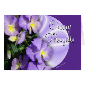 Pansy1023Card2-customize any occasion Card