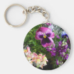 Pansy and Friends keychain