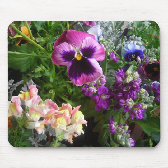 Pansy and friends mouse pad
