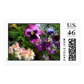 Pansy and Friends Postage Stamps