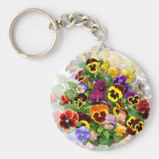 PANSY BEAUTY ~ Keychain