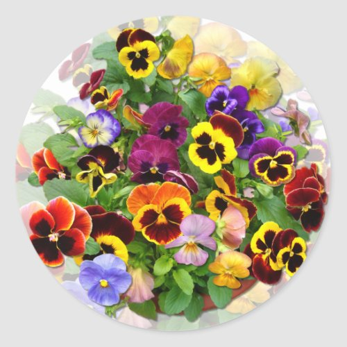 PANSY BEAUTY  Stickers