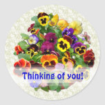 PANSY BEAUTY ~ Thoughts  Stickers