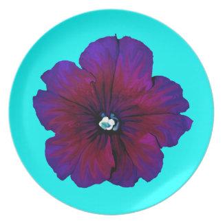 Pansy Bloom Dinner Plate