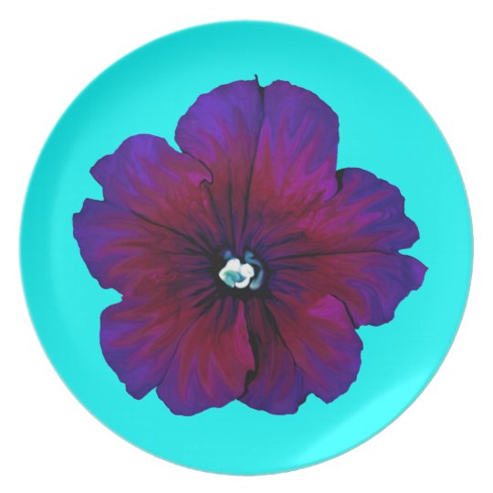 Pansy Bloom Dinner Plate