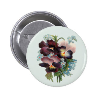 Pansy Bouquet Pins