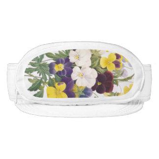 Pansy Bouquet Flowers Floral Cap-Sac Hat