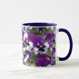Pansy Ceramic Coffee Mug
