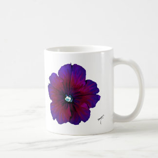 Pansy, Ceramic Mug