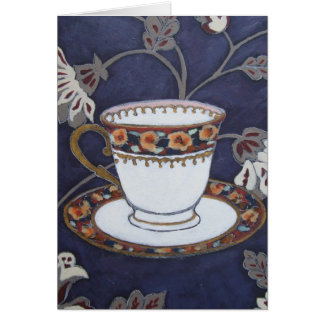 Pansy Cup Art Card