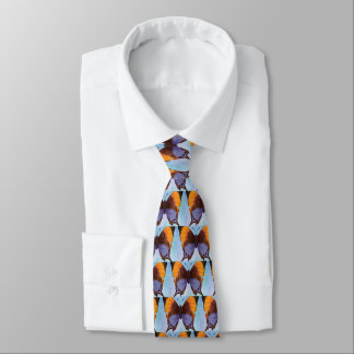 Pansy Daggerwing Butterfly Neck Tie