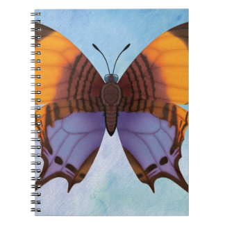 Pansy Daggerwing Butterfly Spiral Notebook