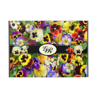 Pansy Display ~ iPad Mini Case with Initials