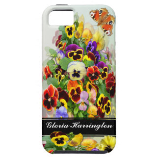 Pansy Display ~  iphone 5  Tough Case iPhone 5 Cases