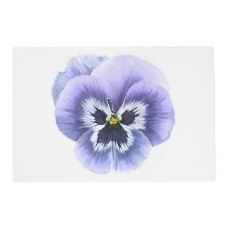 Pansy Face Purple Placemat