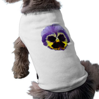 Pansy Flower Pet Clothing