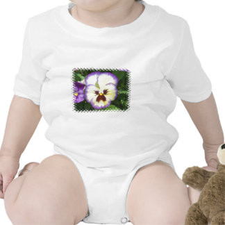 Pansy Flower Pictures Baby T-Shirt